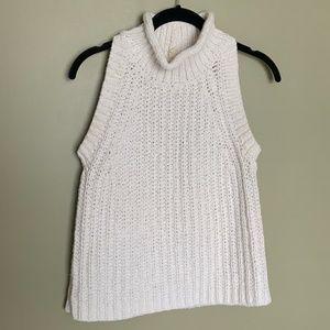 Anthropologie MOTH knit mock neck sleevele…